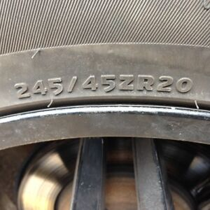 245 45 ZR 20 performance Tires for BMW