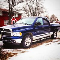 02 DODGE RAM 1500 SLT FOR SALE/TRADE *SAFTIED&LOW KMS*