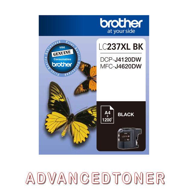 Genuine Brother LC237XLBK Black ink Cartridge for DCP-J4120DW,MFC-J4620DW