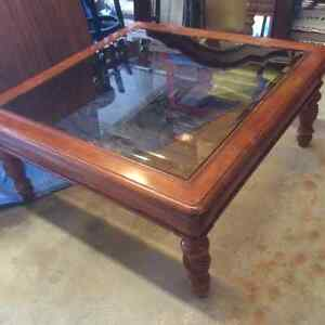 Great glass top table