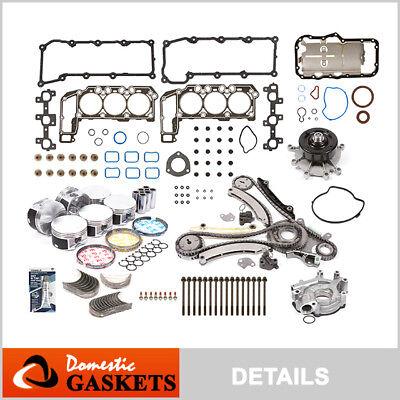 02-03 Jeep Liberty Dodge Ram 1500 3.7L Master Engine Rebuilding Kit
