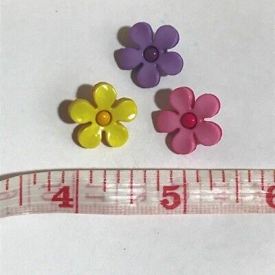 Spring Flower Petal Buttons Sewing Craft Clothing Buttons Children  - Kids Spring Crafts