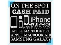 ON THE SPOT IBUY/ IPHONE 7 7PLUS 6 PLUS 6S PLUS SAMSUNG GALAXY S7 S8 PLUS MACBOOK PRO IPAD PRO