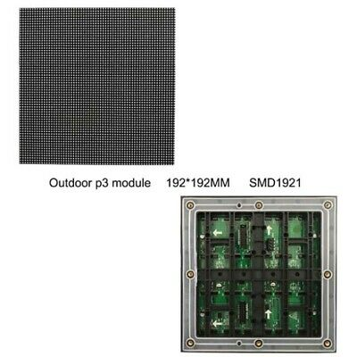 Outdoor Rgb Led Module Display Screen P3 Rental Cabinet Advertising Panel Board