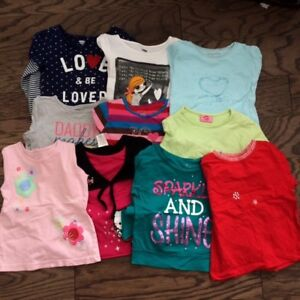 Grils Long Sleeve Tops, size 4T