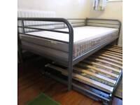 IKEA SVÄRTA daybed + HAFSLO mattress sofa single double bed