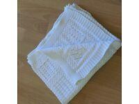 Zara Home Knitted Cotton Baby blanket