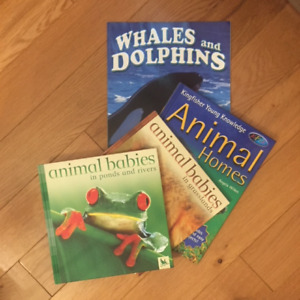 4  EASY TO READ ANIMAL BOOKS