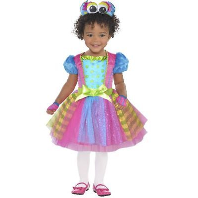 Little Monster Princess Toddler 4 Piece Halloween Costume 3T-4T (New with Tags) - Little Girl Monster Costume