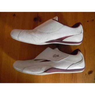 LACOSTE WHITE LEATHER EXCELLENT CONDITION