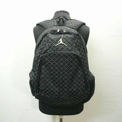 950cd07252d Nike Air Jordan 23 Backpack Jet-black Laptop School Bag Womens Mens 9A1115  NEW