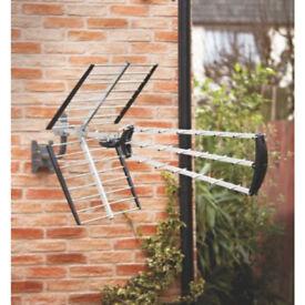 LABGEAR TV AERIAL HIGH-GAIN DIGITAL. Ideal for fringe reception areas