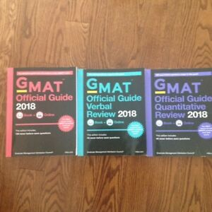 GMAT OFFICIAL GUIDE 2018 BUNDLE: BOOKS + ONLINE$65.00