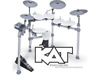 Kat KT2, e drums. 2 months of use. With extra cymbal