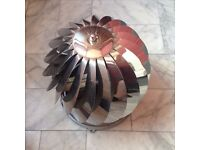 Spinning Chimney Cowl Stainless Steel - 240mm - As New