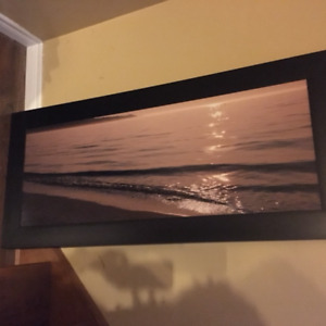 Large beach picture