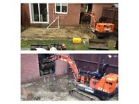 Digger hire with experienced operator