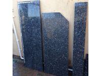 Recycled Black Granite Worktops