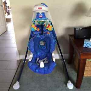 Fisher Price Aquarium Swing Cambridge Kitchener Area image 1