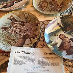 COLLECTIBLE PLATES WITH BIRDS Regina Regina Area image 2