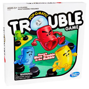 TROUBLE BOARD GAME AT TEDDY N ME