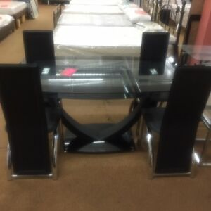 5 PCs dinette set brand new regular $1499 Now 1149 Regina Regina Area image 1