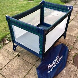 Mothercare Pack and Play Travel Cot and Playpen - Very Good Condition