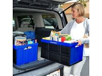 Bargain Brand NEW CleverMade CleverCrates Collapsible Storage Bin Box - 46L 40kg Smoke&Pet Free Hom