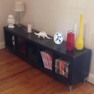 Black shelving unit - good condition Wooloowin Brisbane North East Preview