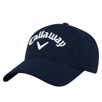 56645203ec1b7 CALLAWAY GOLF 2018 STRETCH FITTED CAP   HAT SIZE  L XL NAVY A-FLEX FIT NEW  19731