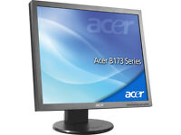 Acer B173 17 inch LCD Monitor with VGA cable