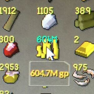 SELLING OSRS GOLD (600M FOR SALE)