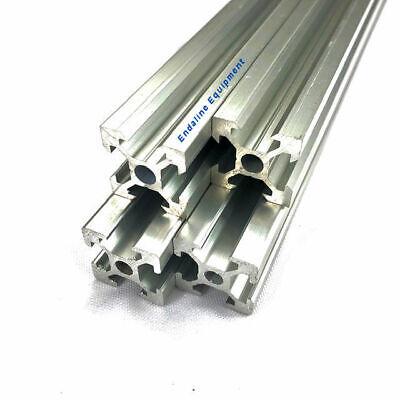 2020 V-channel Aluminum Profile Extrusion Anodized Several Sizes 2 Pcs