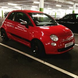 FIAT 500 STREET - 13 PLATE 26K MILES 12 MONTH MOT NEW TYRES/BRAKES (TINTED WINDOWS LEATHER SEATS)
