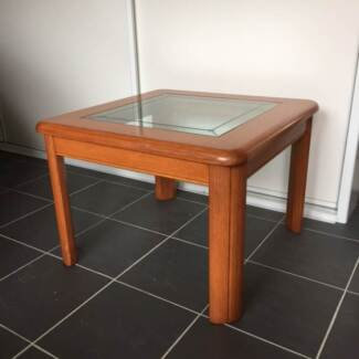 Quality Timber / Glass Coffee Tables