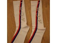 New A Cold Wall ACW Samuel Ross Red Blue Stripe Pair of Socks Alyx Studios Off White Gucci Nike
