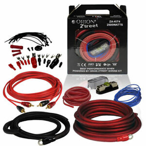 Orion Z Series 4 Gauge Complete Amp Kit 2500 Watts