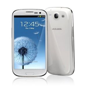 New Samsung Galaxy S III GT-I9300 - 16GB - Marble White s3 Factory Unlocked