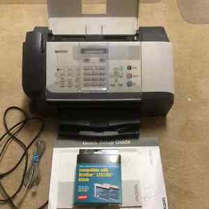 Brother Fax with 2 ink cartridges