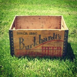 Antique Crates and Boxes of years gone by 1940s 50s 60s 70s