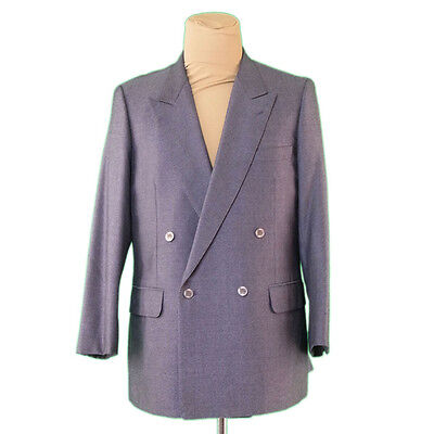 Auth BURBERRY Jacket Double Tailor Mens used P690