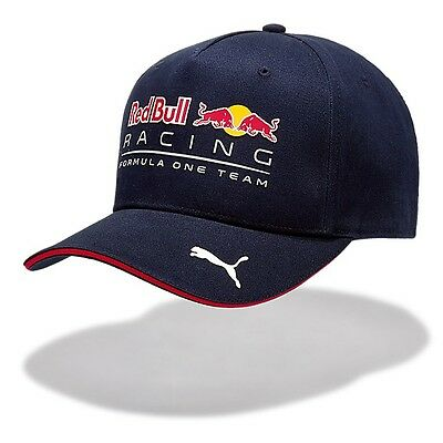 2017 OFFICIAL F1 Red Bull Racing TEAM Baseball Cap Hat NAVY BLUE Mens – NEW
