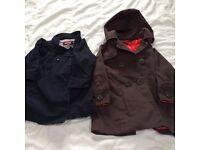 Girls' Ted Baker and Jojo Maman Baby Jackets