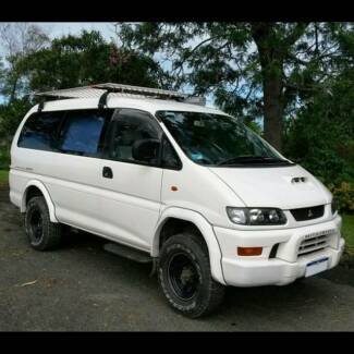 1998 Mitsubishi Delica Spacegear 4x4 Campervan Long Wheel Base Ocean Shores Byron Area Preview