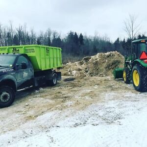 Looking for a place to dump horse manure must be in Milton area