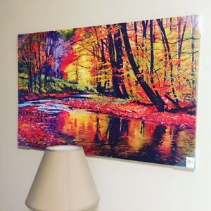 35 inch * 23 inch canvas art (not real oil painting) London Ontario image 2