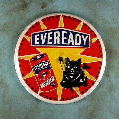 - Vintage Style Advertising Clock Fridge Magnet 2 1/4