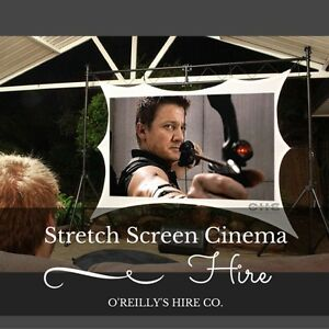 3.5m Stretch Screen Cinema Hire Perth - O'Reilly's Hire Co. Kelmscott Armadale Area Preview
