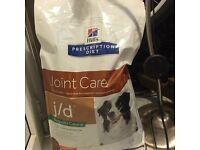 Hills Prescription Diet Joint Care Dog Food for Sale (due to sudden loss of elderly dog)