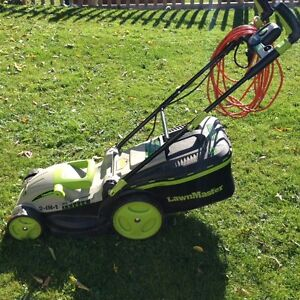 End of Season:Lawnmaster MEB1016M 15-Inch 2-in-1 Electric  Mower
